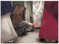 a woman touch Jesus garment - 2 -  Google Search